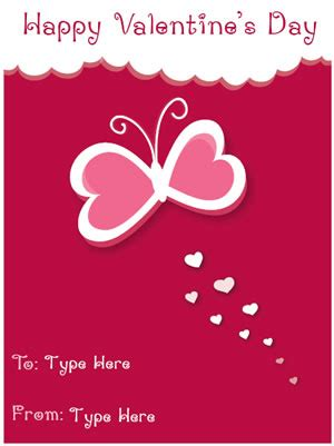 free valentines day card templates free valentine s day mini card templates certificate