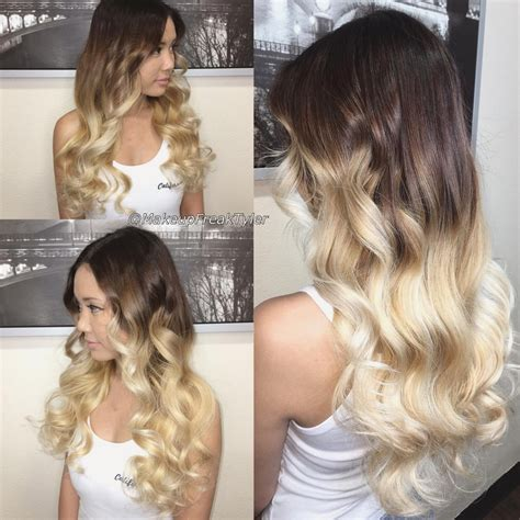dark to light hair color ombre hair light brown to dark blonde life style by