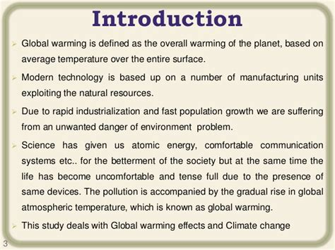 Introduction Essay Global Warming by Essays On Global Warming And Climate Change
