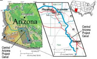 central arizona map fact sheet 170 98