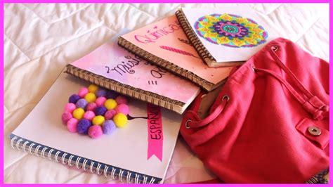 videos de como decorar libretas ideas para decorar tus libretas o cuadernos diy regreso a