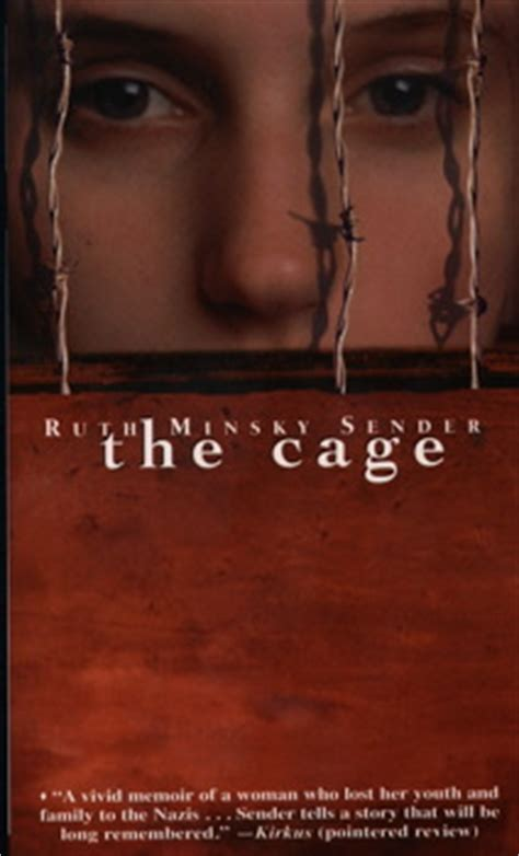 caged books the cage book by ruth minsky sender official publisher