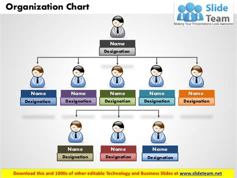 free organizational chart template powerpoint best photos of microsoft organizational chart template