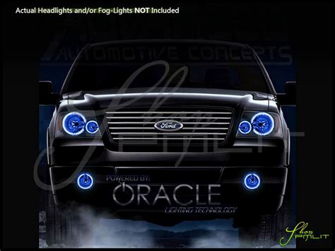 ford f150 halo lights oracle 04 08 ford f150 led halo rings headlights bulbs