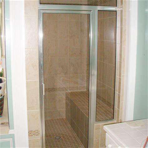 Single Shower Doors by Framed Glass Shower Door Installation Repair Va Md Dc