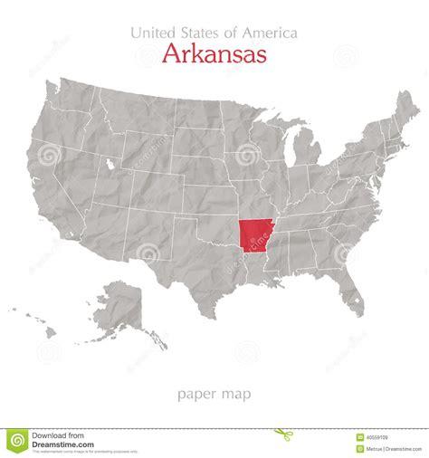 united states map texarkana arkansas arkansas stock vector image 40559109