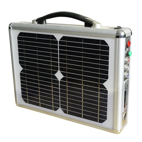 portable solar system iqmilitary portable solar power generator system