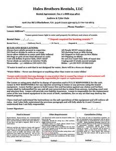 hbr inflatables rental agreement hale brothers inflatables