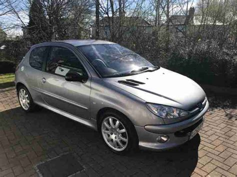 peugeot grey peugeot 206 gti grey 2003 53 car for sale