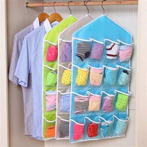 16 pocket door hanging bag 16 pocket closet door wall hanging organizer storage