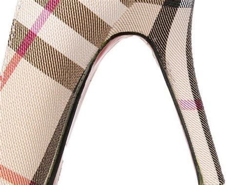 burberry pattern heels 59 for a pair of burberry inspired stiletto heels buytopia