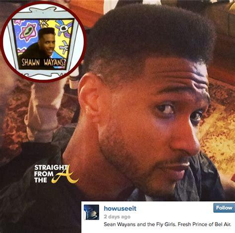usher hairstyle 2014 usher raymond haircut shawn wayans 2014 straightfromthea 4