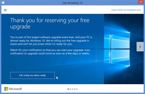 Windows 10 Reserve Tutorial | tutorial how to reserve and cancel your free windows 10