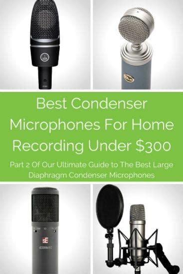 best condenser mics for home recording 300 repo