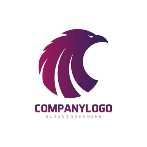 logo design free no download eagle shape logo template design vector free download