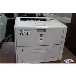 Hp Laserjet 5100 Dndtn 1 hp laserjet 5200 dtn network printer able auctions