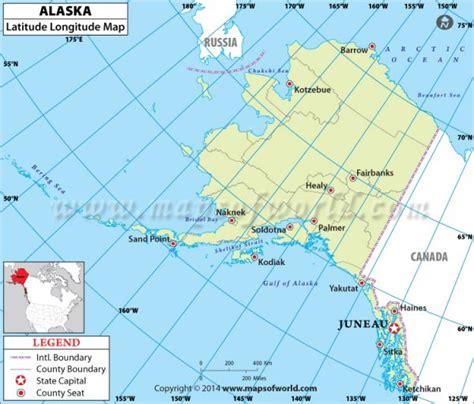 map us lat buy alaska latitude longitude map