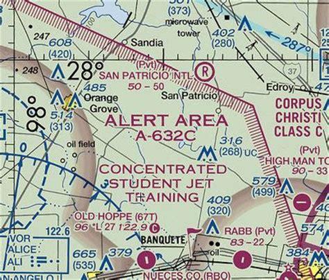 warning area aeronautical charts airspace guide usa chart reading tutorial c aviation