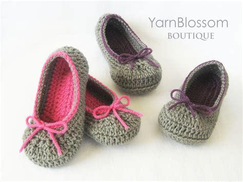 crochet slipper patterns for toddlers toddler crochet pattern the slipper 6 shoe sizes