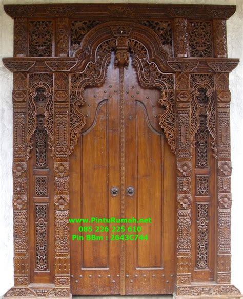 Gebyok Kusen Pintu Ukir jual pintu gebyok bali ukir pr 79 harga murah jepara oleh pt jati jepara furniture