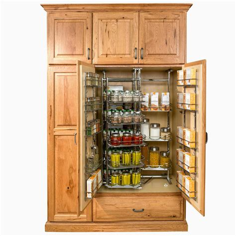 kitchen storage cabinets no pantry problem