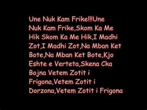 eminem  afraid shqip  tekst youtube