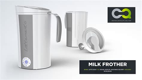 milk frother design latteduzio milk frothers on behance