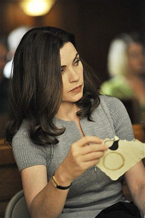 the good wife hair still of julianna margulies in the good wife 2009