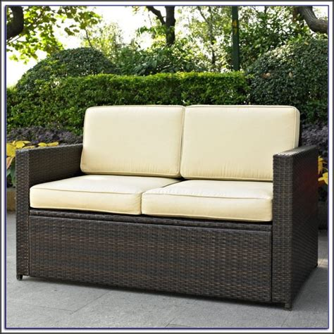 patio loveseat cushions wicker patio loveseat cushions patios home decorating