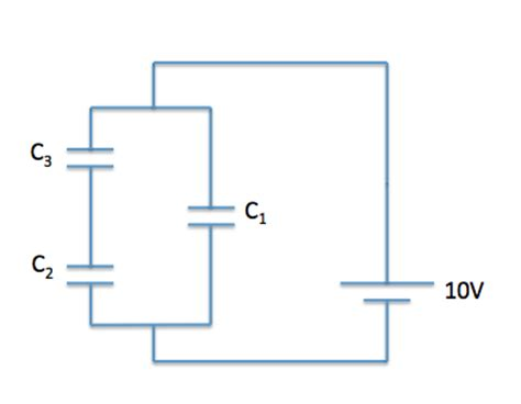 capacitor questions circuit electrostatics and electrical fields mcat physical