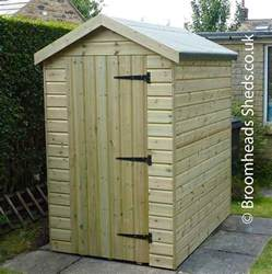 16mm tanalised timber pent shed