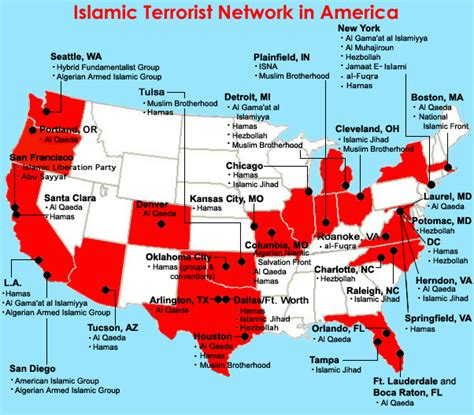 Terrorist Sleeper Cells In America terrorist sleeper cells awaiting activation in america