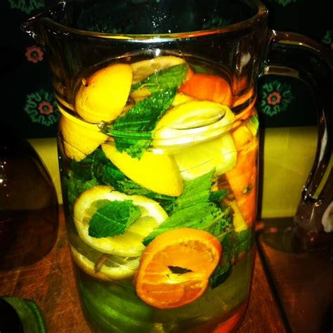 Grapefruit And Tangerine Detox Water by Citrus Mint Detox Water Fiji Water Infused With Grapefruit