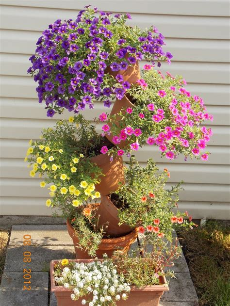 topsy turvy planter plant one here pinterest