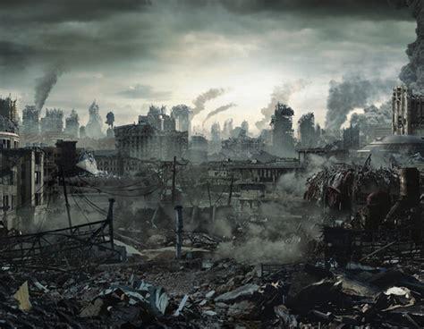 impressionanti illustrazioni della fine del mondo