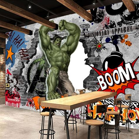 avengers photo wallpaper custom  hulk wallpaper graffiti
