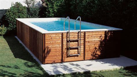 rivestimento in legno per piscine fuori terra piscine zannoni s r l