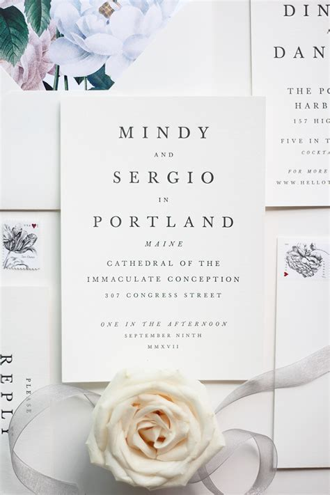 minted wedding invitations reviews our wedding invitation suite with minted a mix of min