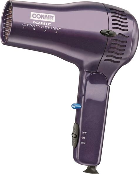 Conair Hair Dryer Retractable Cord conair 289 ionic conditioning hair dryer 1875 w retractable line cord 3 heat 2 speed setting