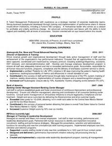 Talent Development Manager Sle Resume by Resume Services Local
