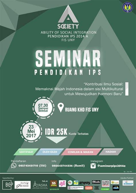 seminar pendidikan ips uny community