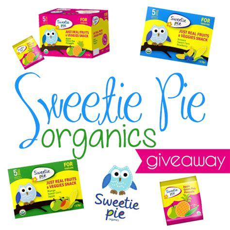 Fruit Giveaway - sweetie pie organics fruit snacks giveaway daily mom