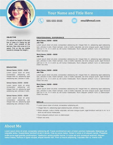 infographic resume template stand out infographictemplates
