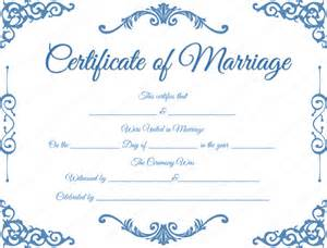 marriage certificate templates free traditional corner marriage certificate template dotxes