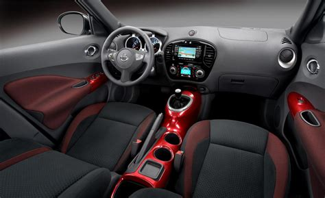 nissan juke interior car and driver