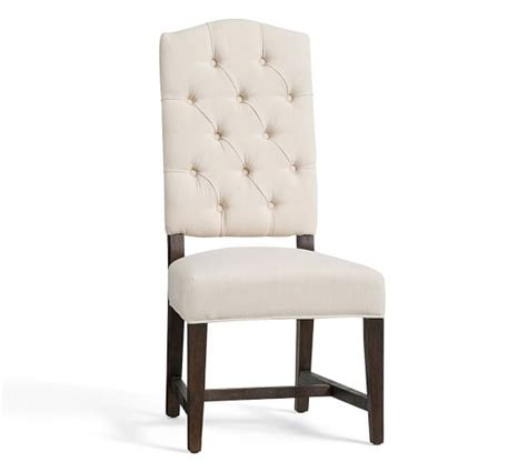 Dining Room Chairs Pottery Barn Ashton Tufted Side Chair Pottery Barn