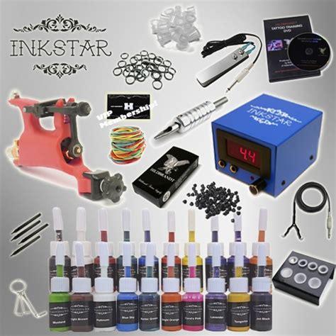 tattoo kit for less tattoo kit inkstar venture rotary and truecolor 20 ink set