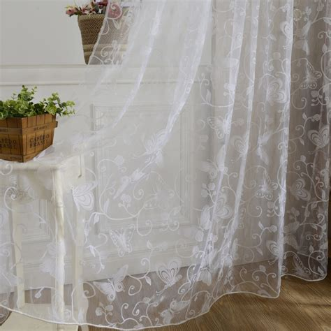 tulle drapes window curtain purple butterfly burnout ᗚ tulle tulle