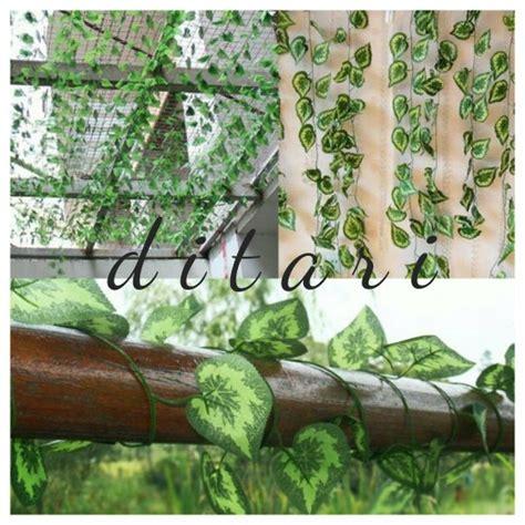 jual daun rambat bunga plastik artificial artifcial