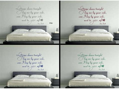 bedroom walls lyrics sam smith lay me down song lyrics romantic bedroom wall